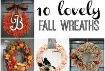 Fun & Festive Fall Wreaths