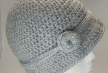 Sombreros de ganchillo