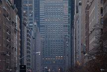 Urban modern streets