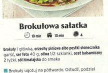 Przepisy kulinarne - sałatki i surówki