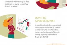 Motivational Infographics / Boost your productivity with these amazing motivational graphics. Make every day as useful to you and your business as possible!