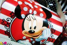 Minnie in Brazil! / Decoração de festa Tema: Minnie