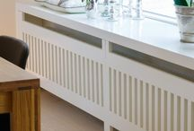 window radiator cover