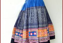 Hmong skirt China and Vietnam