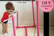 AG Doll Gymnastics / by Margaret Johnson/GiGi's Doll Creations