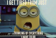 Minions Theme for planner stickers / Minions graphics and qoutes I want to print and add to my planner