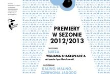 Teatry w Polsce /// Theatres in Poland / Tablica grupowa, w której polskie teatry zamieszczają aktualności z pierwszej ręki. / Group board in which Polish theatres pin their first-hand news.