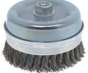 Wire Brushes /  They are made with high quality wire for long life and excellent performance.Used in aggressive applications.