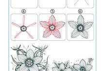 kreativ/zentangle/zeichnen