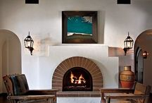 Spanish fire place