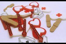Resins Kitsch Plastics Cabochons / Variety of resins Nurse - pandas - cats - horse - hearts - stars - fruit