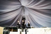Ceiling Draping, Dance Floor Draping and Ceiling Swag / Ceiling draping decor. sales@orangecountylinens.com 714.805.4261