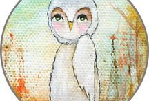 Wise Owl Whimsies, Clip Art, Printables / Clip Art, Clipart, Digital Designs, Printables, Whimsical Cuties, Resources for Teachers, Resources for Artists, Resources for Designers. Freebies, Give Aways, Drawings. Designs created by Itaya Lightbourne. For Commercial and Personal Use. / by Itaya Lightbourne