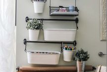 House: Craft Room / Craft room organization ideas, tables, decor and more!
