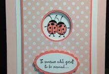 lady bug cards