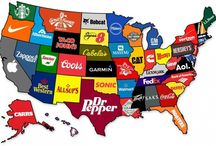 Weird Maps of the USA / Once You See These 30 Weird Maps, You'll Never Look At The U.S. The Same