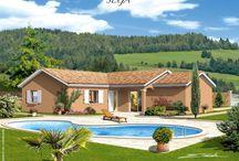 Modèles maison (vue extérieure)