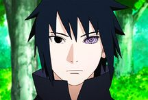 Sasuke / he is not my favourite character.