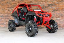 side-by-side , atv and motocross / by Charli Gagnon