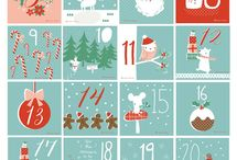 Noël - calendrier avent