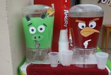 Lucas angry bird party