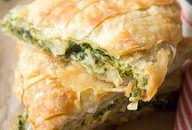 Greek veggie food