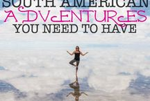 South America / A Travel Guide of South America by TheArtOfLiving.Earth
