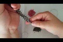 Kristalli zigzag bileklik video
