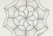 Art Doodle Blank Zendala Templates