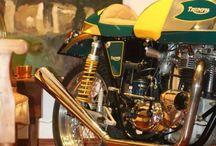 Triumph Trophy / Redonda Motors and Triumph Café Racer
