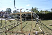 High Tunnels / We manufacture high tunnels! More on our site at http://www.berea.edu/grow-appalachia/high-tunnels/
