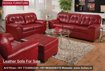LEATHER LIVING SOFAS
