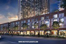 Ruko West Vista Apartemen / Ruko di apartemen West Vista Jakarta