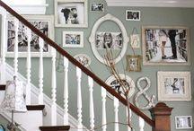 Stairs & photos