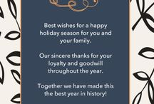 Fall & Winter Invitations / by Two Branching Out