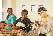 Basket Case II / 5 Weaving communities in Zim recently collaborated with artists & designers from Europe to creative new pieces!