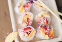 Vegan - Rolls, Wraps, Sushi