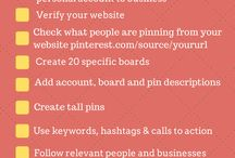 Create Pinterest Business Account / by Michelle's Beauty Buzz and More