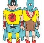 The Atom - Blue Hood