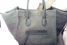 Designer Felt Handbags / #felt #wool #leather #handbags #bigbrands #designer #highend #popular
