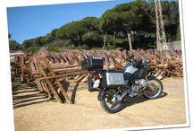 Mis fotos de viaje / Las fotos de mis viajes en moto.