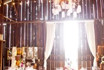 Barn Wedding / Inspiration for a rustic-chic photo shoot coordinated by Mike B Photography
