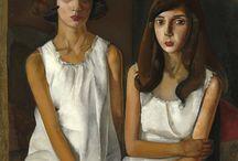 arte - Boris Grigoriev (1886-1939) / arte - pittore russo