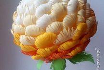papirove kvety
