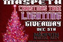 Maspeth Martial Arts Event / Maspeth Martial Arts Maspeth, Queens, NYC, Christmas Tree Lighting Giveaway