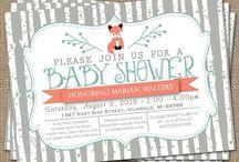 Benjamin's baby shower: Fox Theme