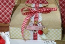 Scrapbooking Cadeau gourmand