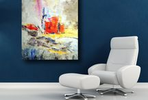 Moderne Gemälde / Großformatige moderne Kunst zu bezahlbaren Preisen.