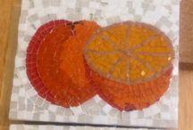 Mosaics fruit