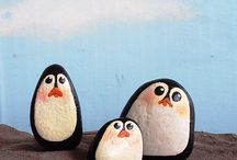 Penguin rock  / Rock art5